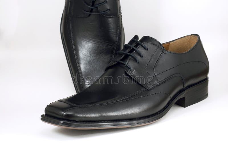 查出的礼服穿上鞋子白色 免版税库存照片