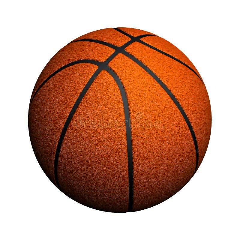 查出的篮球 向量例证