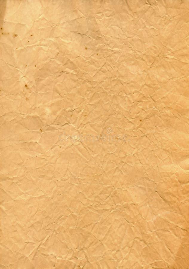 查出的老纸葡萄酒 库存照片