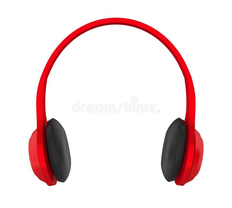查出的耳机 向量例证