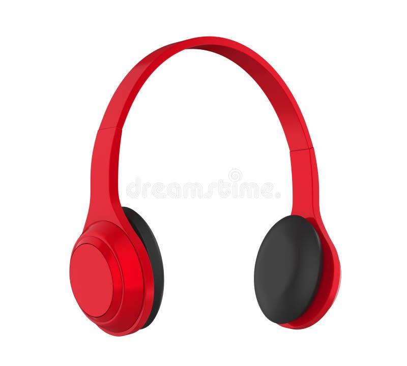 查出的耳机 库存例证
