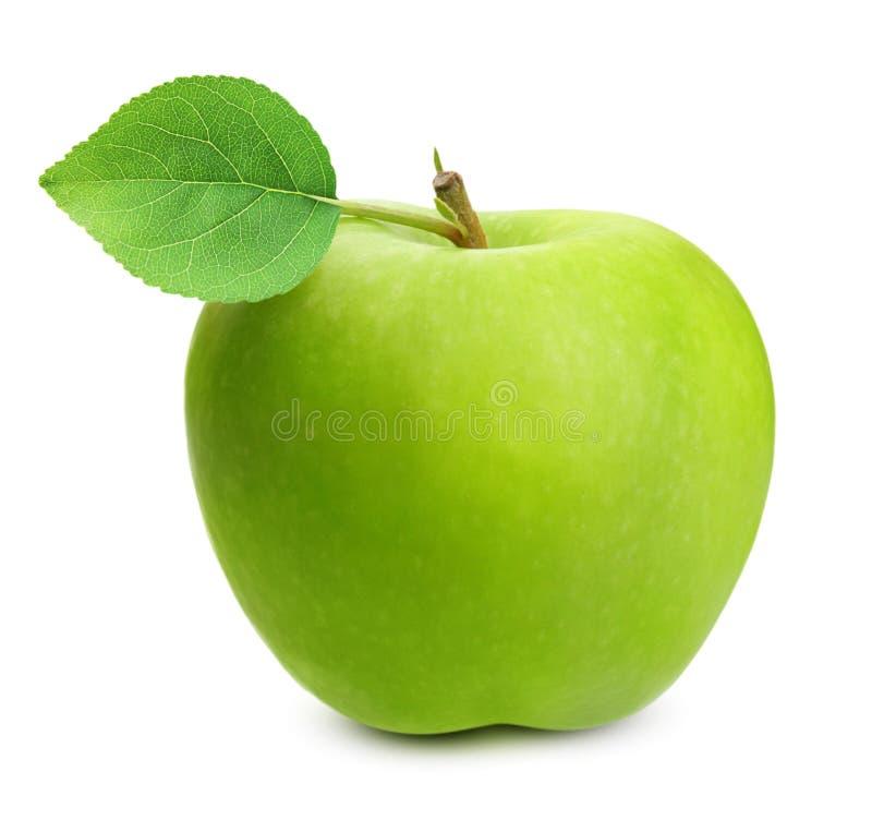 查出的苹果绿 图库摄影