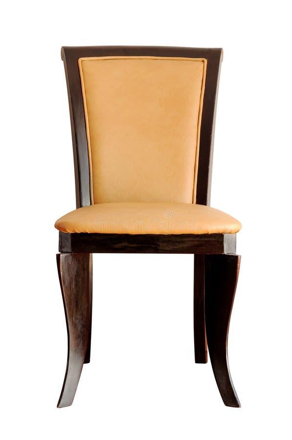 查出的葡萄酒椅子 图库摄影