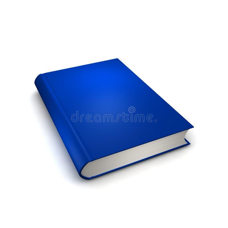 查出的蓝皮书 向量例证