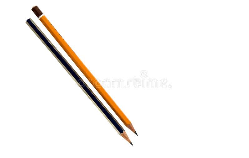 查出的铅笔 库存照片
