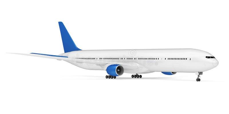 查出的飞机 库存例证