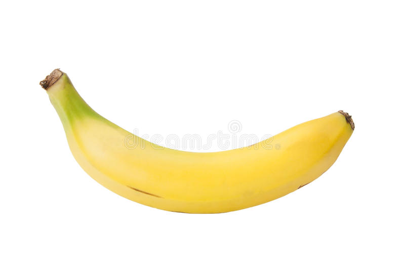 查出的香蕉 免版税库存照片