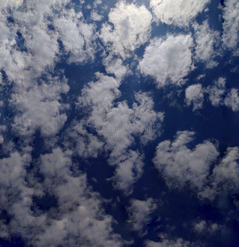 查寻和看见了神的天空 免版税图库摄影