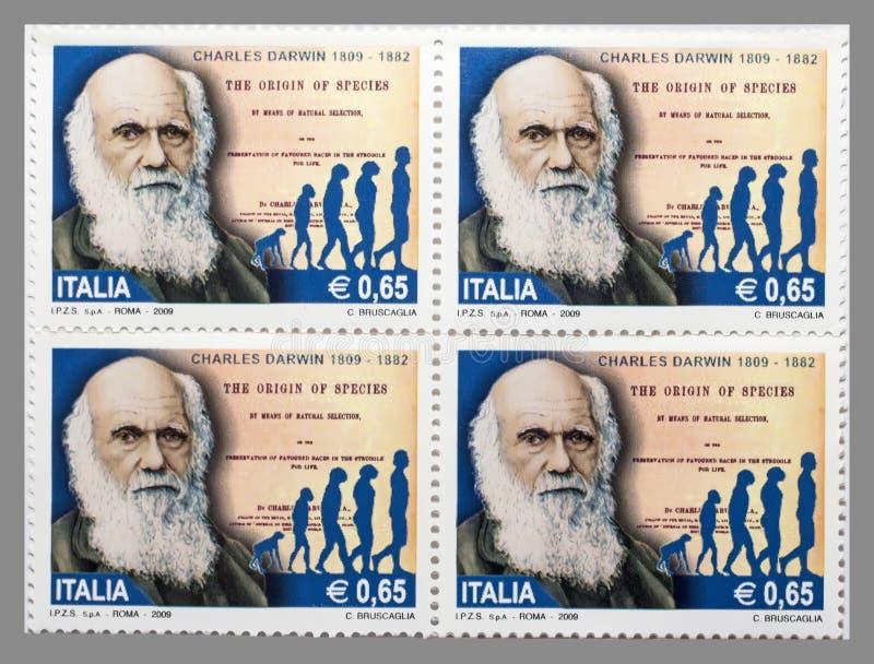 查尔斯・达尔文 免版税库存照片
