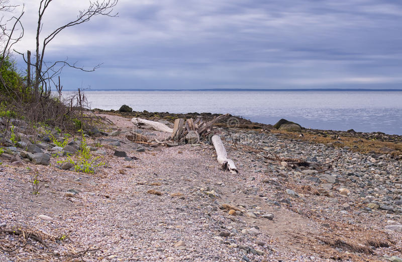 查尔斯海岛Milford康涅狄格 库存照片
