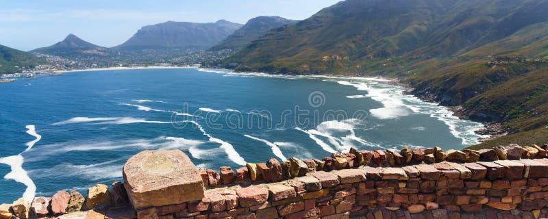 查普曼在南非开普敦的峰 库存图片