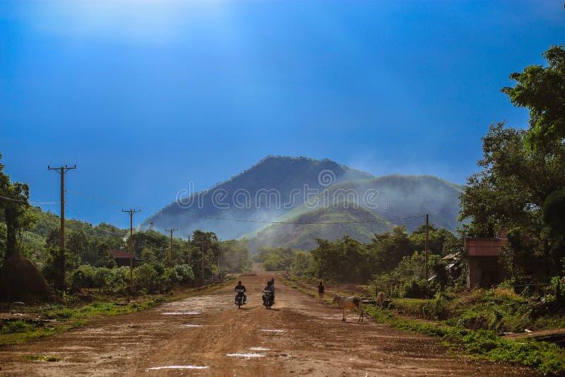 柬埔寨人日常生活  图库摄影