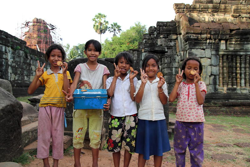 柬埔寨子项 库存图片