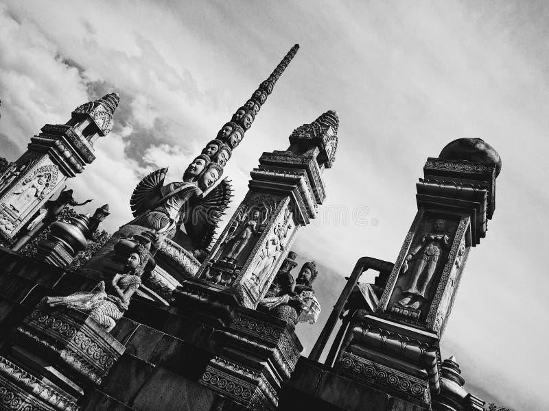 柬埔寨寺庙 免版税库存照片