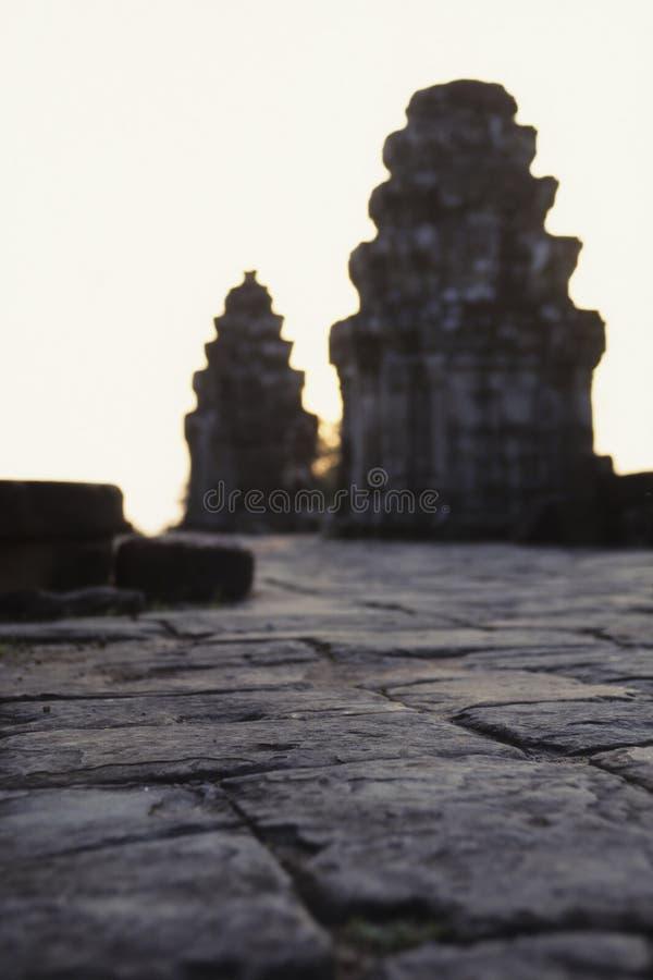 柬埔寨废墟 免版税图库摄影