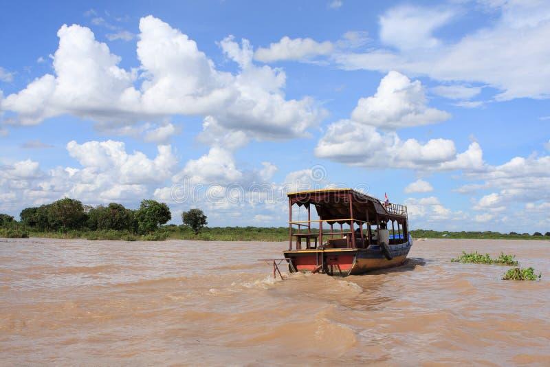 柬埔寨河 库存照片