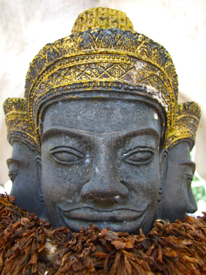 柬埔寨雕象样式泰国 免版税库存图片