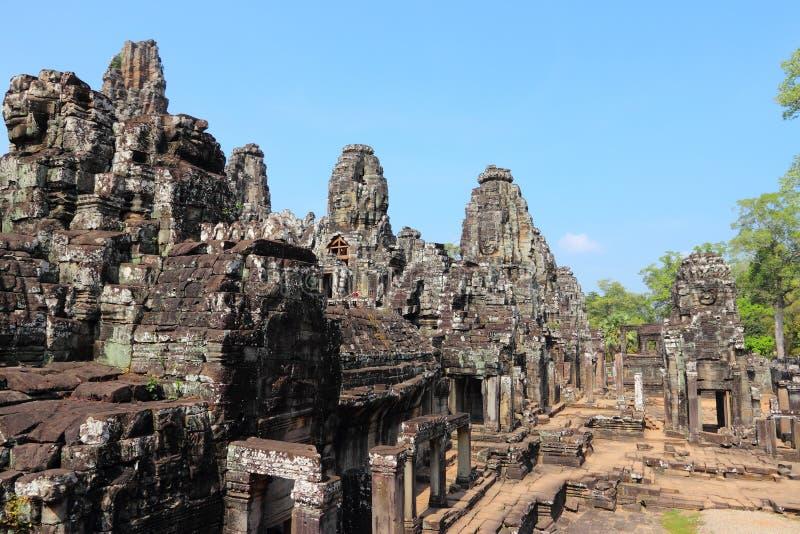 柬埔寨-吴哥城 免版税库存图片