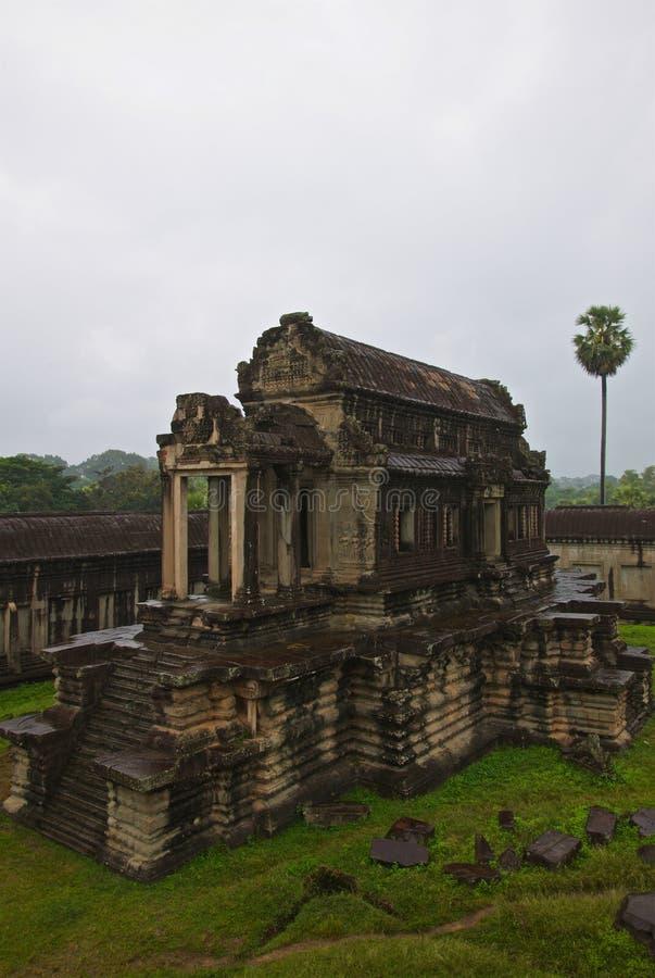 柬埔寨吴哥窟季风季节 免版税库存图片