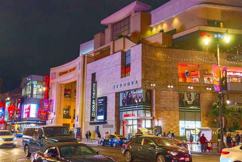 柯达提出每年奥斯卡金象奖的剧院杜比 免版税库存图片