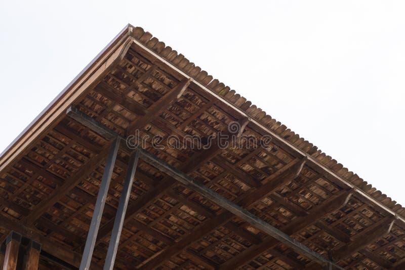 柱子和天花板屋顶 免版税库存图片