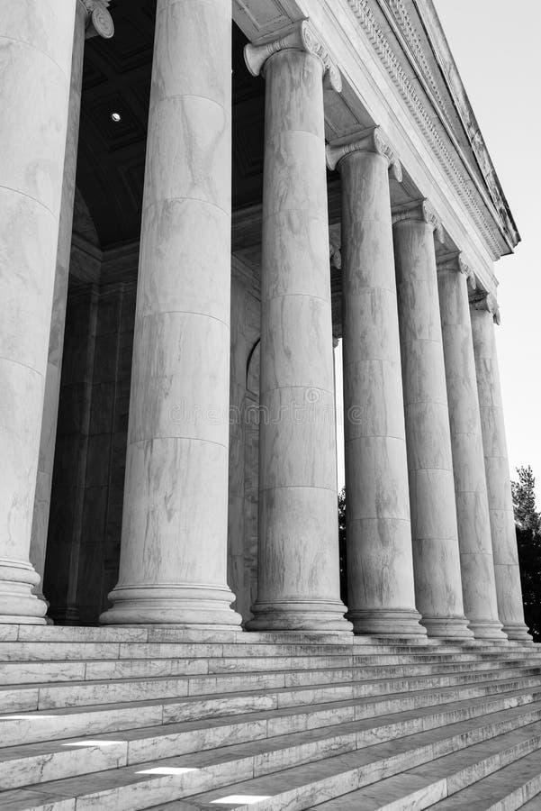 柱子和步 库存照片