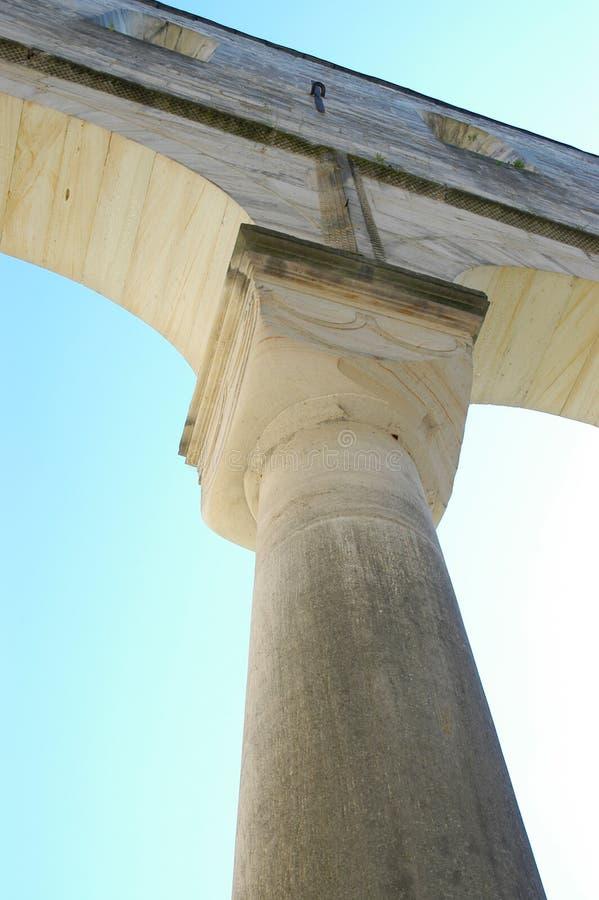 柱子 库存照片