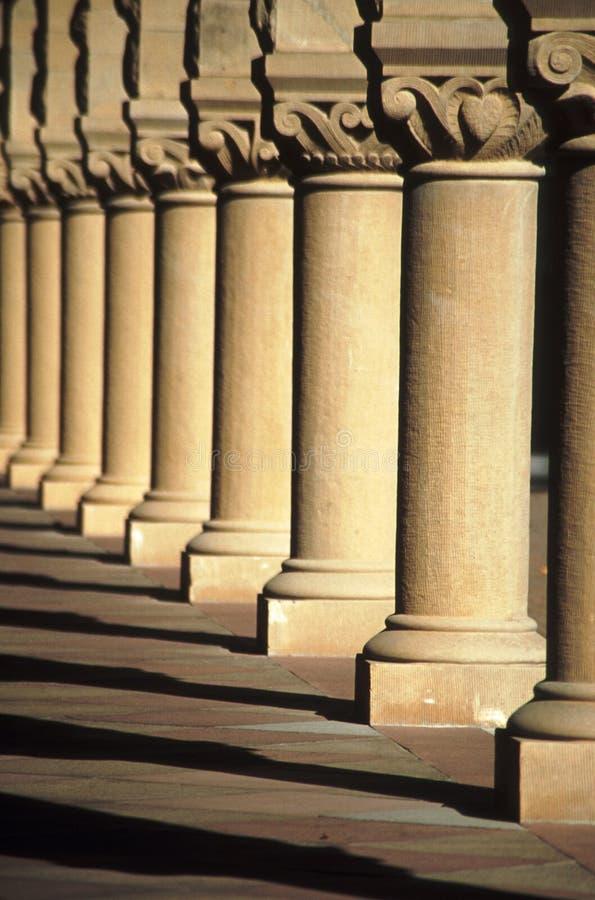 柱子 免版税库存图片