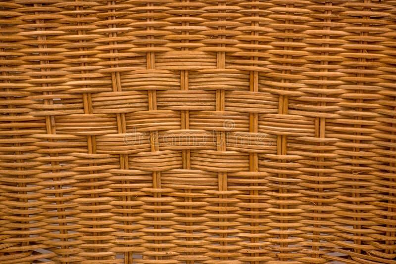 柳条筐结构纹理 图库摄影