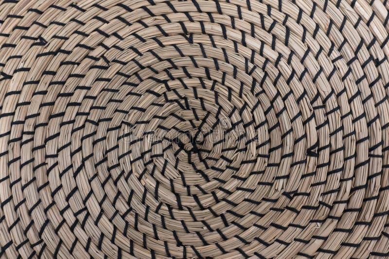 柳条筐结构纹理 库存照片