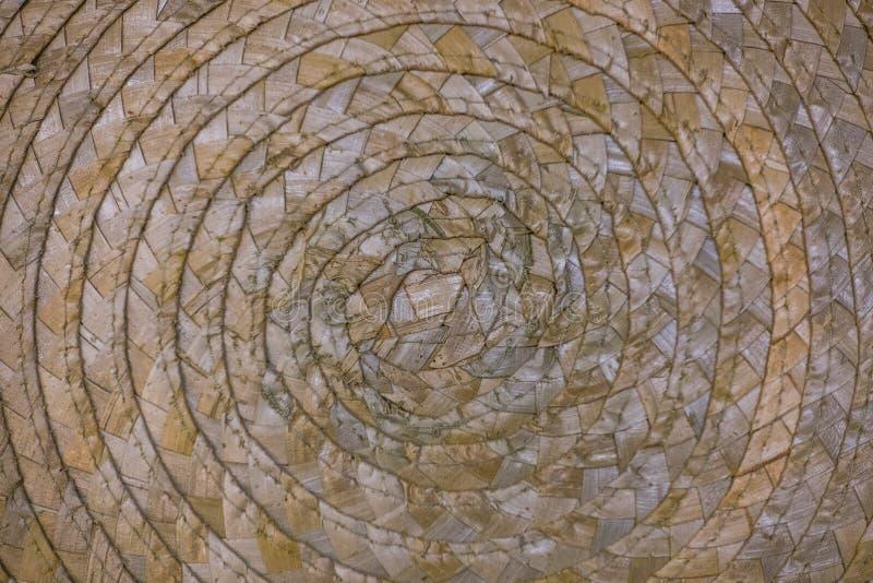 柳条筐结构纹理 库存图片