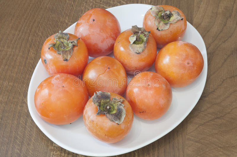 柿属 库存照片