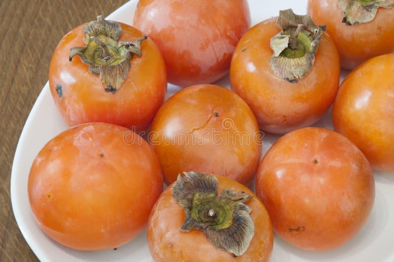 柿属 免版税库存照片