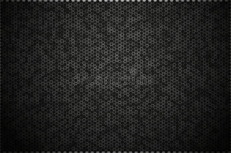 栅格的抽象形式 向量例证