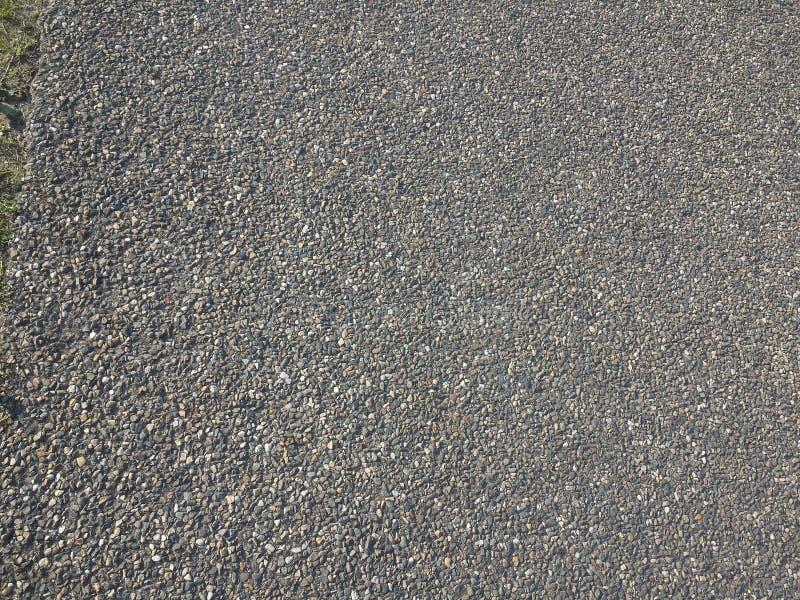 栅格路面灰色 免版税库存照片