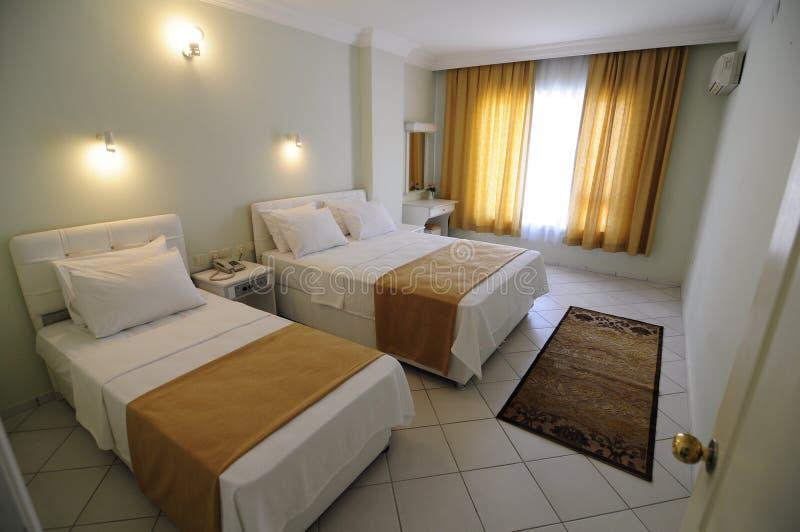 标准酒店房间 免版税图库摄影