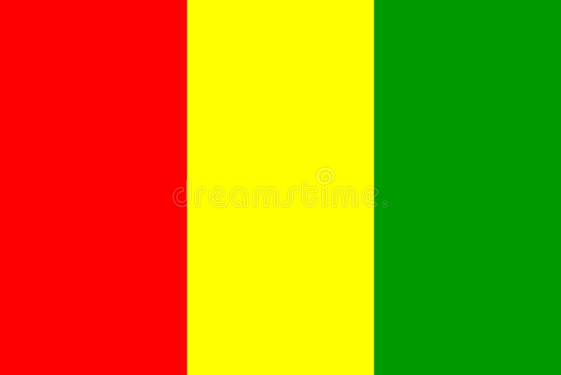 标志几内亚 皇族释放例证