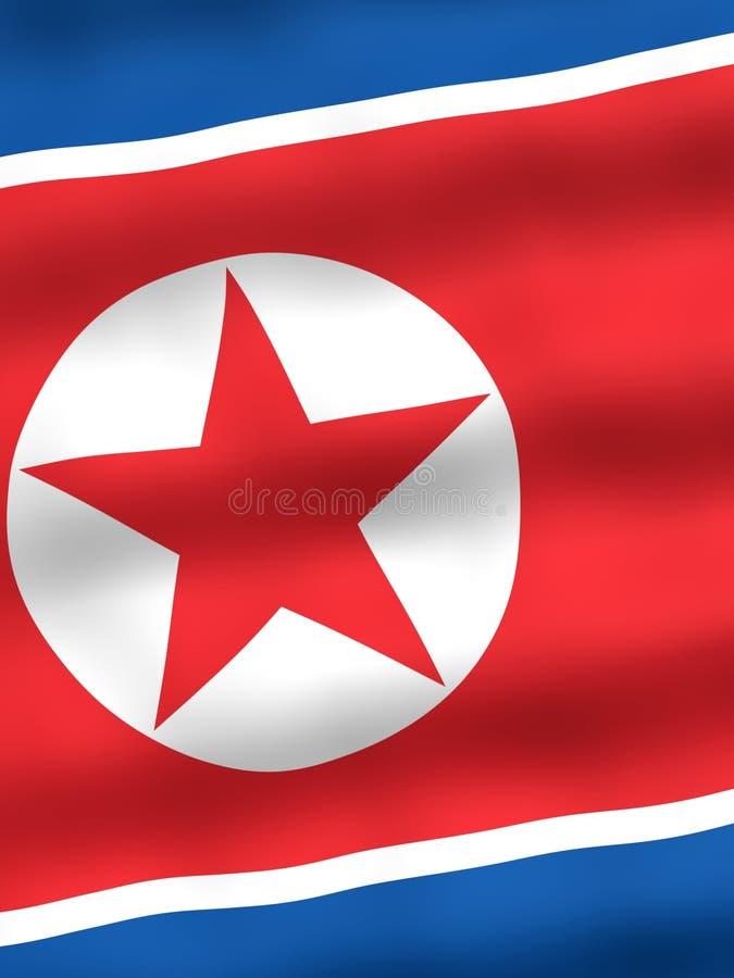 标志北部的韩国 皇族释放例证