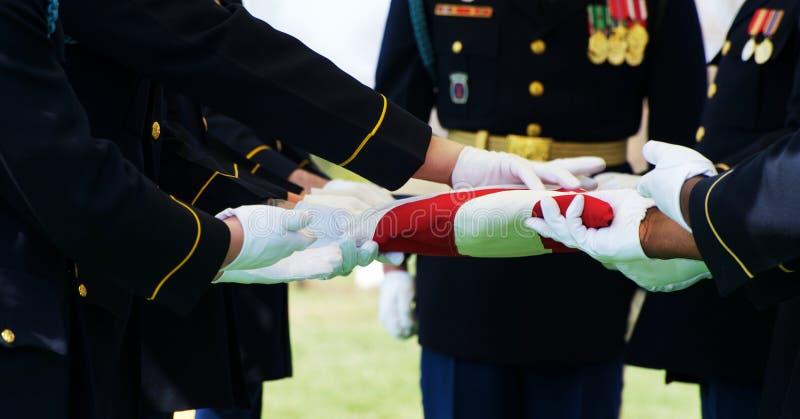 标志卫兵荣誉称号 免版税库存图片