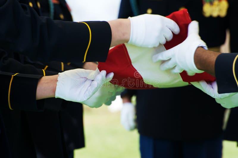 标志卫兵荣誉称号 免版税库存照片