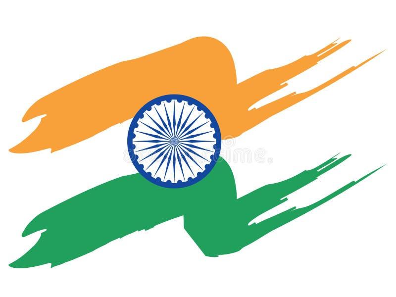 标志印地安人 向量例证