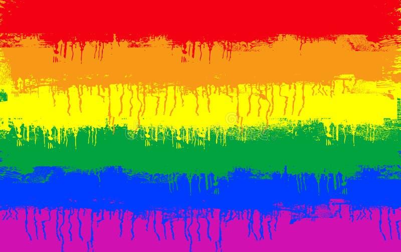 标志同性恋者 向量例证
