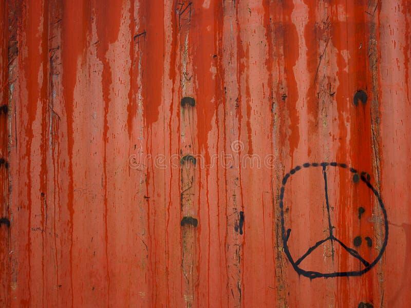 标志和平主义者 库存照片