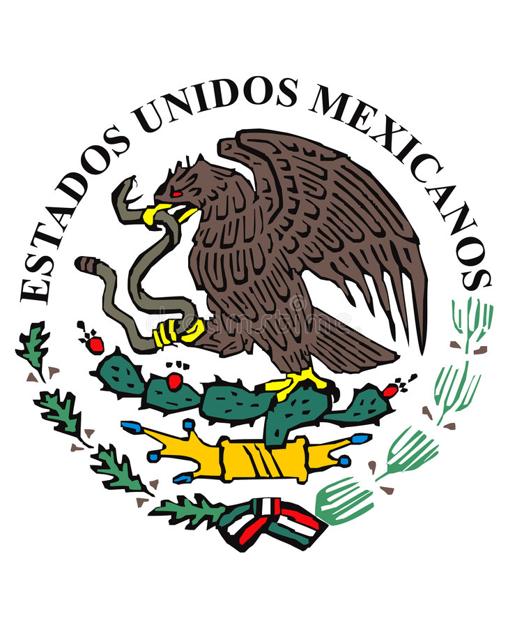 标志图标墨西哥 向量例证