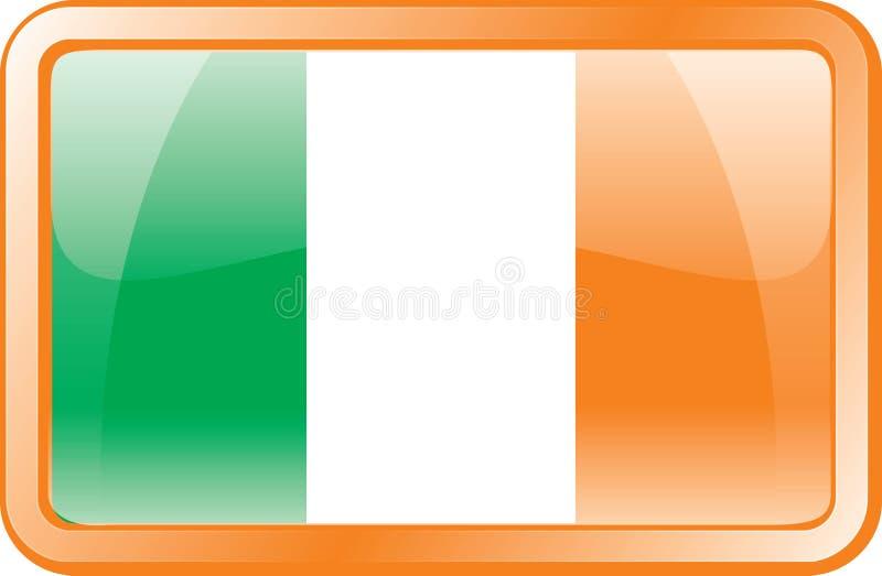 标志图标爱尔兰 库存例证