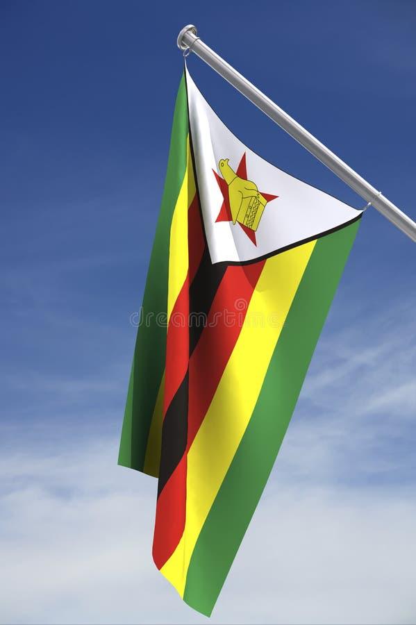 标志天空津巴布韦 向量例证