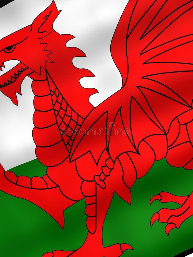 标志威尔士 向量例证