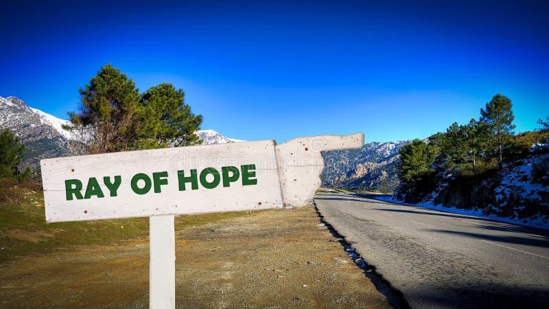 标志希望之光 库存照片