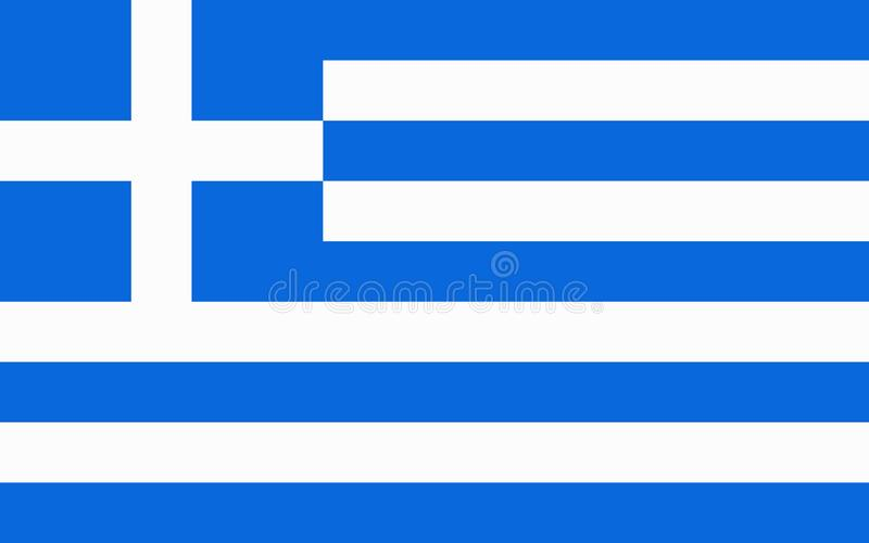 标志希腊 皇族释放例证