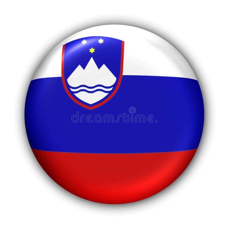 标志斯洛文尼亚 库存例证